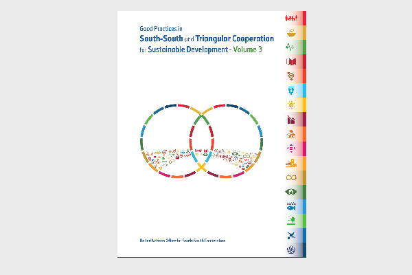 Good Practices in SSTC for Sustainable Development Publication Cover Image