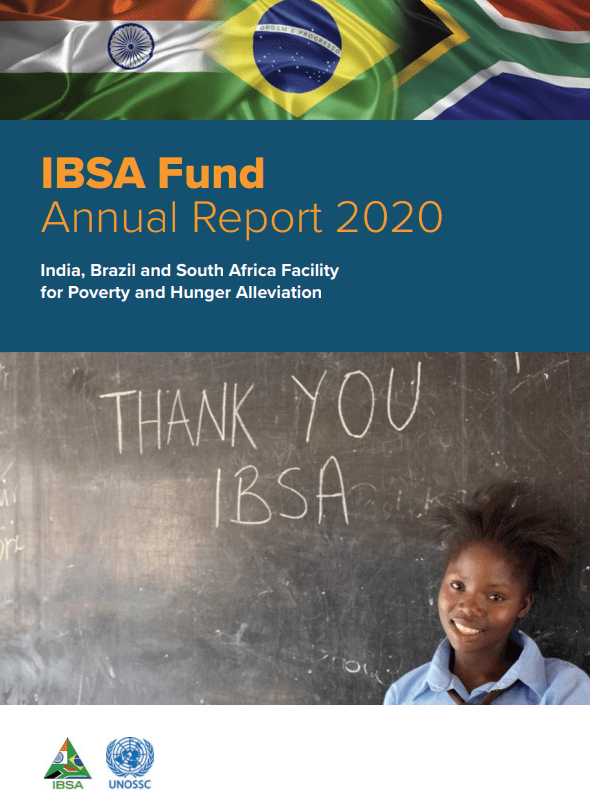 IBSA Fund Annual Report 2020 Cover Image